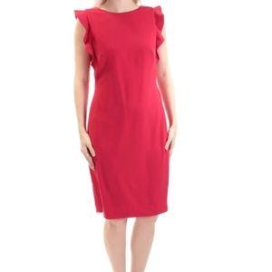 NWT Calvin Klein red dress